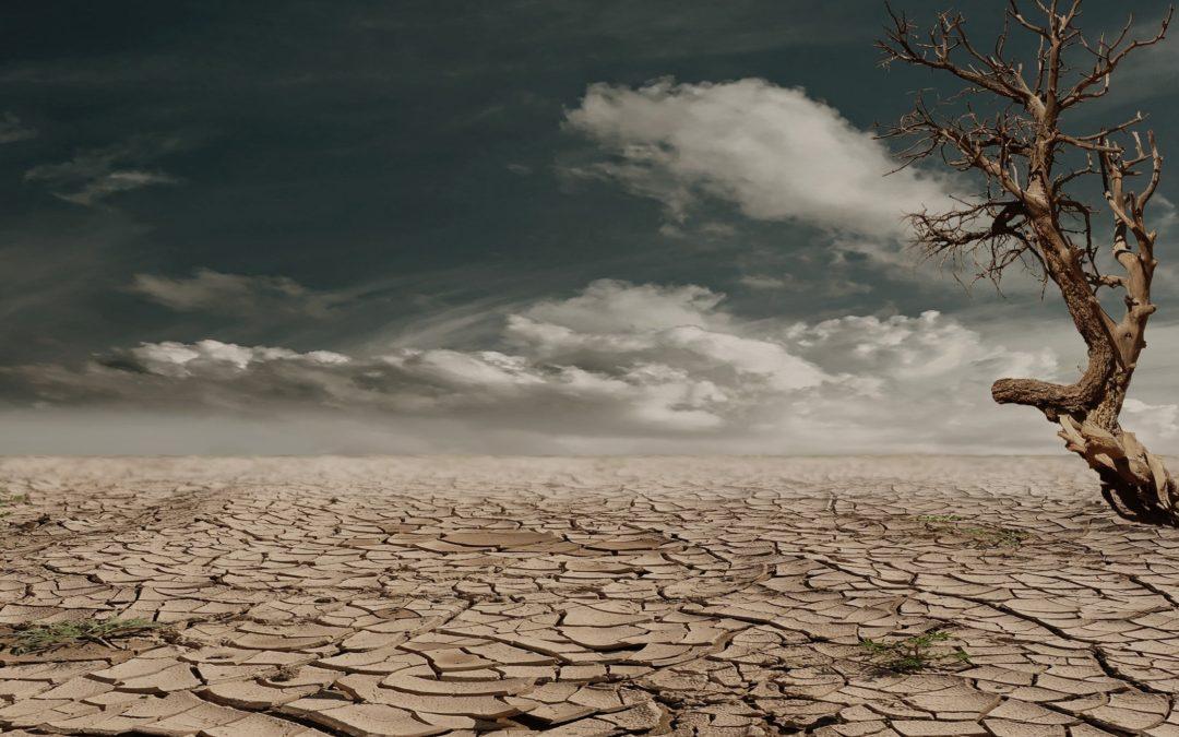 El cambio climático y la falta de agua