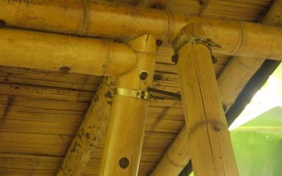 3 diferentes formas de realizar un corte en boca de pez para uniones de bambú