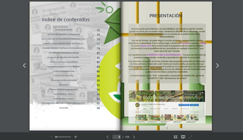 contenidos ebook bambú y sostenibilidad
